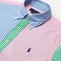 Мужская рубашка Polo Ralph Lauren Custom Fit Multicolor Stripes Multi Fun фото - 1