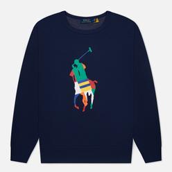 Мужская толстовка Polo Ralph Lauren Multicolour Pony Pony Crew Neck Newport Navy