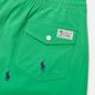 Мужские шорты Polo Ralph Lauren All Over Embroidered Polo Pony Traveler Mid Golf Green фото - 2