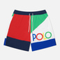 Мужские шорты Polo Ralph Lauren Color Block Traveler Mid Royal/Multi фото - 0