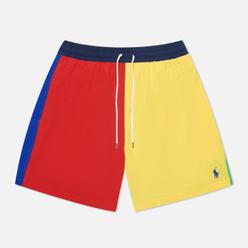 Мужские шорты Polo Ralph Lauren Color Block Traveler Mid Yellow/Multi