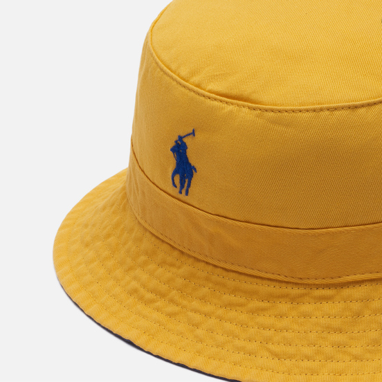 Панама Polo Ralph Lauren Twill Loft Embroidered Polo Pony Gold Bugle
