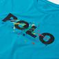 Мужская футболка Polo Ralph Lauren Classic Fit Paint Splatter Logo Perfect Turquoise фото - 1