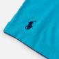 Мужская футболка Polo Ralph Lauren Classic Fit Paint Splatter Logo Perfect Turquoise фото - 3