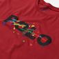 Мужская футболка Polo Ralph Lauren Classic Fit Paint Splatter Logo Chili Pepper фото - 1