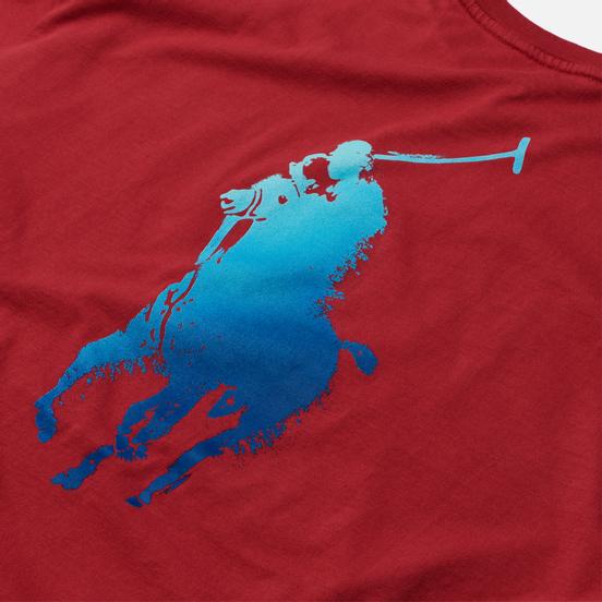 Мужская футболка Polo Ralph Lauren Classic Fit Paint Splatter Logo Chili Pepper