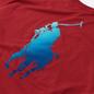 Мужская футболка Polo Ralph Lauren Classic Fit Paint Splatter Logo Chili Pepper фото - 2