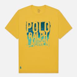Мужская футболка Polo Ralph Lauren Classic Fit Graphic Logo Signal Yellow