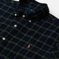 Мужская рубашка Polo Ralph Lauren Slim Fit Classic Oxford Check Navy/Green фото - 1