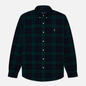 Мужская рубашка Polo Ralph Lauren Slim Fit Classic Oxford Check Green/Navy фото - 0