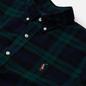 Мужская рубашка Polo Ralph Lauren Slim Fit Classic Oxford Check Green/Navy фото - 1