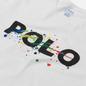 Мужская футболка Polo Ralph Lauren Classic Fit Paint Splatter Logo White фото - 1