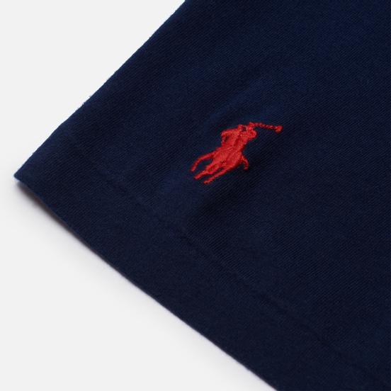 Мужская футболка Polo Ralph Lauren Classic Fit Graphic Logo Newport Navy
