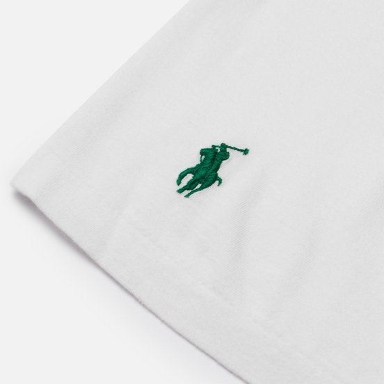 Мужская футболка Polo Ralph Lauren Classic Fit Graphic Logo White
