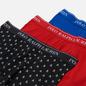 Комплект мужских трусов Polo Ralph Lauren Classic Trunk 3-Pack Black All Over Skull/Red/Sapphire фото - 1