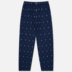 Мужские брюки Polo Ralph Lauren Pyjamas Sleep Bottom Cruise Navy All Over Polo Pony Red/White