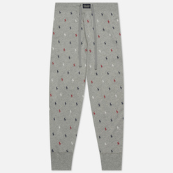 Мужские брюки Polo Ralph Lauren Printed Liquid Cotton Sleep Bottom Andover Heather/All Over Pony Print