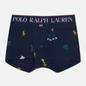 Мужские трусы Polo Ralph Lauren Print Single Trunk Navy/Icons Print фото - 0