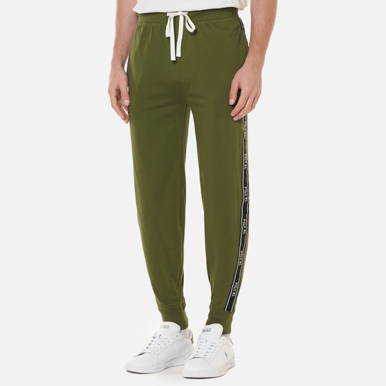 Мужские брюки Polo Ralph Lauren Jogger Polo Taping Supply Olive