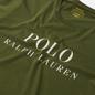 Мужская футболка Polo Ralph Lauren Crew Neck Chest Branded Sleep Top Supply Olive фото - 1