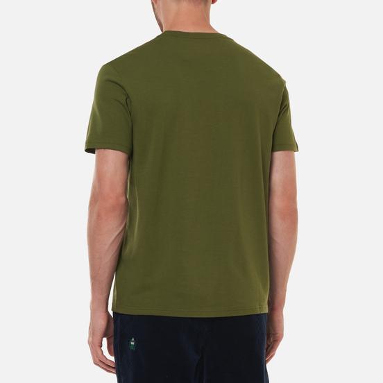 Мужская футболка Polo Ralph Lauren Crew Neck Chest Branded Sleep Top Supply Olive