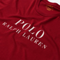 Мужская футболка Polo Ralph Lauren Crew Neck Chest Branded Sleep Top Eaton Red фото - 1