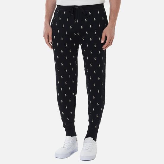 Мужские брюки Polo Ralph Lauren Jogger Sleep Bottom All Over Polo Pony Black