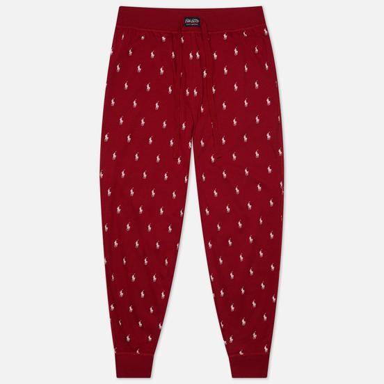 Мужские брюки Polo Ralph Lauren Jogger Sleep Bottom All Over Polo Pony Eaton Red