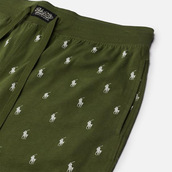Мужские брюки Polo Ralph Lauren Jogger Sleep Bottom All Over Polo Pony Supply Olive