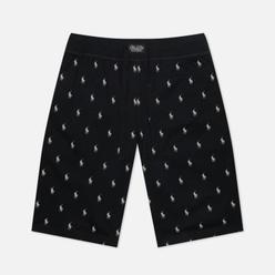 Мужские шорты Polo Ralph Lauren Slim Bottom All Over Polo Pony Black