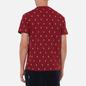 Мужская футболка Polo Ralph Lauren Crew Neck All Over Print Sleep Top Eaton Red фото - 3