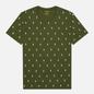 Мужская футболка Polo Ralph Lauren Crew Neck All Over Print Sleep Top Supply Olive фото - 0