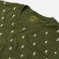 Мужская футболка Polo Ralph Lauren Crew Neck All Over Print Sleep Top Supply Olive фото - 1
