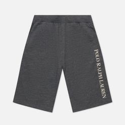 Мужские шорты Polo Ralph Lauren Printed Branding Charcoal Heather