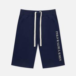 Мужские шорты Polo Ralph Lauren Printed Branding Cruise Navy