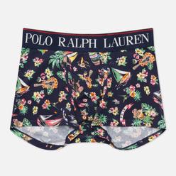 Мужские трусы Polo Ralph Lauren Print Trunk Single Cruise Navy Bear/Waiian