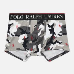 Мужские трусы Polo Ralph Lauren Print Trunk Single Grey Camo All Over Polo Pony
