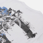 Мужская футболка Stone Island Paint Stroke 2 White фото - 2