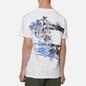 Мужская футболка Stone Island Paint Stroke 2 White фото - 4