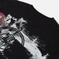Мужская футболка Stone Island Paint Stroke 2 Black фото - 2