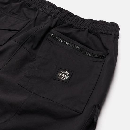 Мужские брюки Stone Island Cargo Stretch Cotton Gabardine Antracite