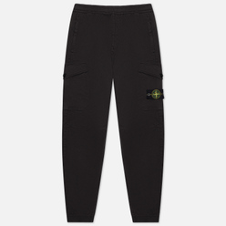 Мужские брюки Stone Island Cargo Jogging Regular Tapered Fit Black