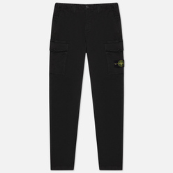 Мужские брюки Stone Island T.CO+OLD Stretch Cotton Broken Twill Black