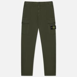 Мужские брюки Stone Island T.CO+OLD Stretch Cotton Broken Twill Moss