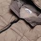 Мужской пуховик Stone Island Crinkle Reps Garment Dyed Fango фото - 1