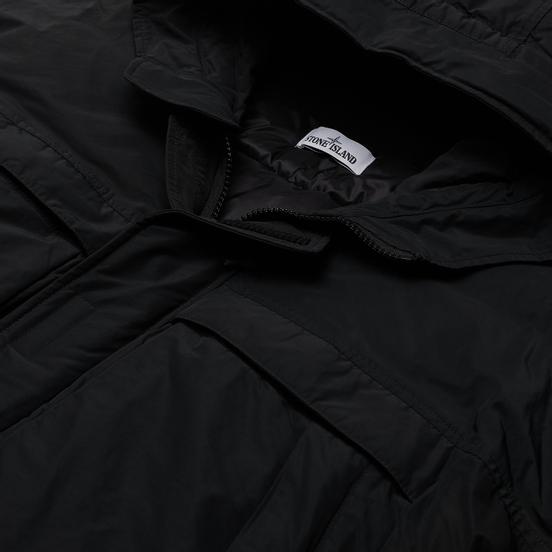 Мужская куртка Stone Island Micro Reps Short Down Black