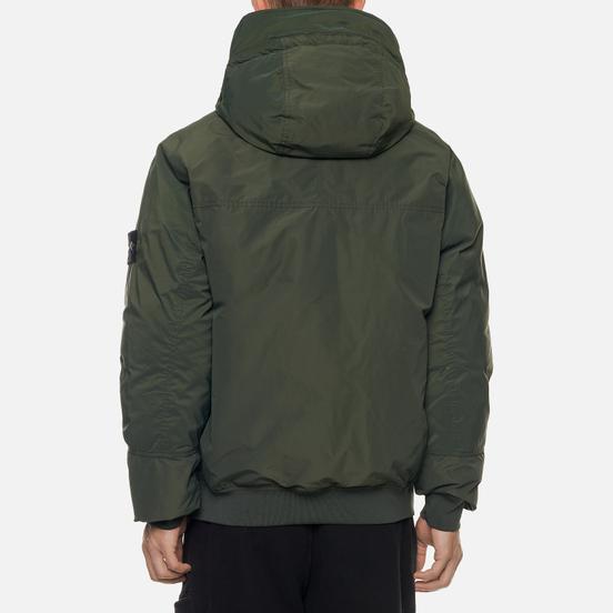 Мужская куртка Stone Island Micro Reps Short Down Moss