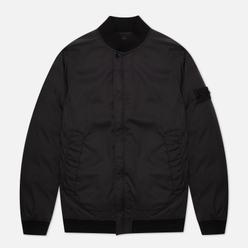 Мужская куртка бомбер Stone Island Ghost Piece Stretch Wool Nylon-TC Down Black