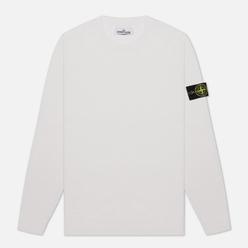 Мужской свитер Stone Island Classic Crew Neck Wool Natural White