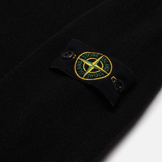Мужской свитер Stone Island Classic Lightweight Wool Black